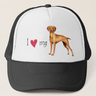 I Love my Vizsla Trucker Hat