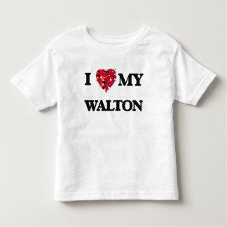 I Love MY Walton T Shirts