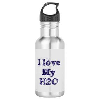 I love my water! 532 ml water bottle