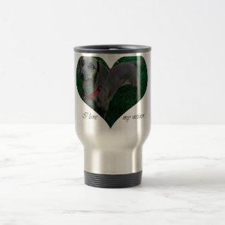 I love my weiner travel mug