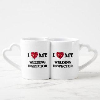I love my Welding Inspector Couples Mug
