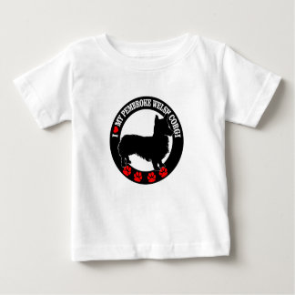 i love my welsh corgi baby T-Shirt