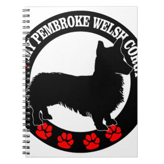 i love my welsh corgi notebooks