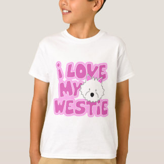 I Love My Westie Child's T-Shirt