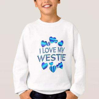 I Love My Westie Sweatshirt