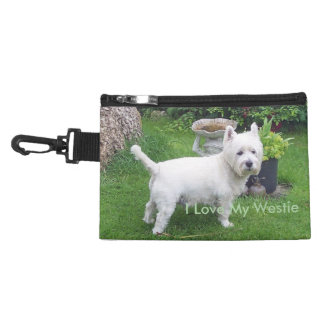 I Love My Westie Travel Accessory Bag