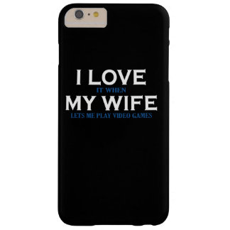 I love my wife barely there iPhone 6 plus case