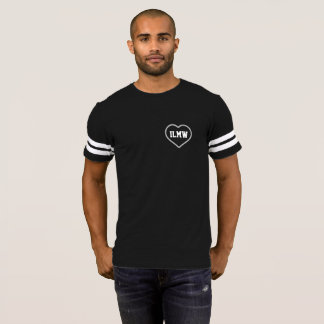 I Love My Wife - Heart - Football Shirt