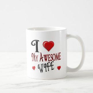 I Love My Wife Logo popular affordable Basic White Mug