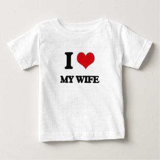 I love My Wife Tee Shirt