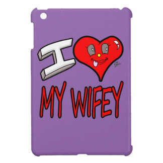 I Love My Wifey Cover For The iPad Mini