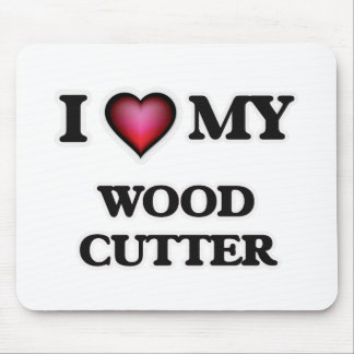 I love my Wood Cutter Mouse Pad