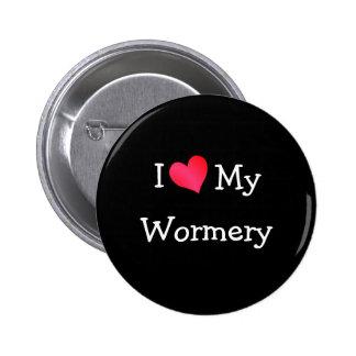 I Love My Wormery 2 Inch Round Button