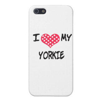 I love my Yorkie Case For iPhone 5/5S
