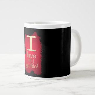 I love my Yorkie Jumbo Mug