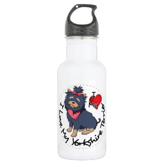 I-Love-My-Yorkshire-Terrier 532 Ml Water Bottle