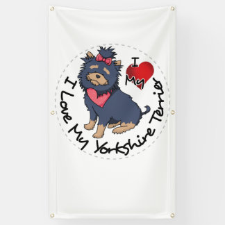 I-Love-My-Yorkshire-Terrier Banner