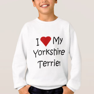 I Love My Yorkshire Terrier Shirt for Dog Lovers