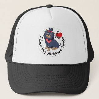 I-Love-My-Yorkshire-Terrier Trucker Hat