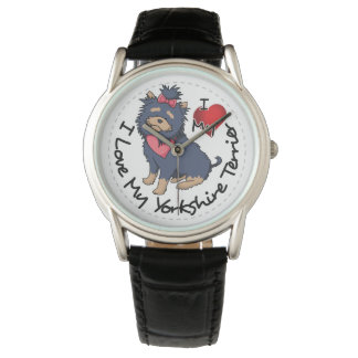I-Love-My-Yorkshire-Terrier Watch