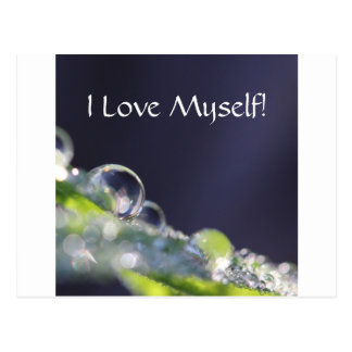 """I Love Myself!"" Series #2 Postcard"