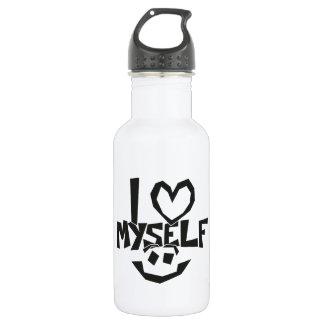 I love myself Smiley 532 Ml Water Bottle
