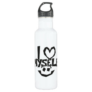 I love myself Smiley 710 Ml Water Bottle
