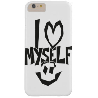I love myself Smiley Barely There iPhone 6 Plus Case