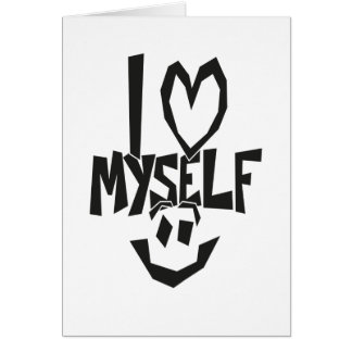 I love myself Smiley Card