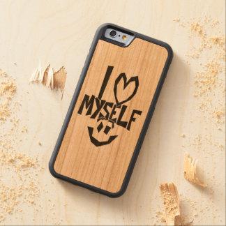 I love myself Smiley Cherry iPhone 6 Bumper Case