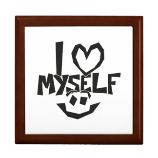 I love myself Smiley Gift Box