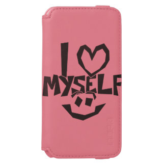 I love myself Smiley Incipio Watson™ iPhone 6 Wallet Case