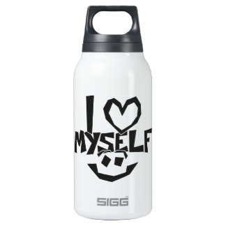 I love myself Smiley Insulated Water Bottle