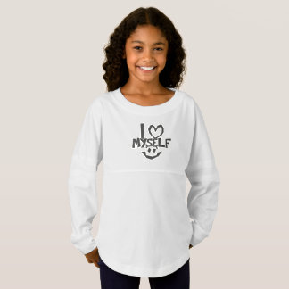 I love myself Smiley Jersey Shirt