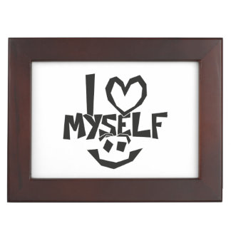 I love myself Smiley Keepsake Box