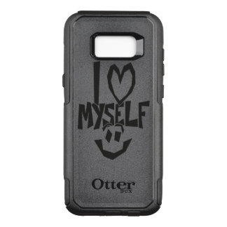 I love myself Smiley OtterBox Commuter Samsung Galaxy S8+ Case