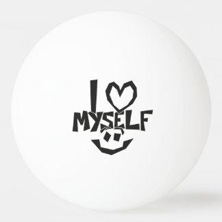 I love myself Smiley Ping Pong Ball