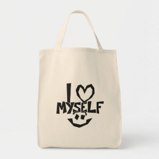 I love myself Smiley Tote Bag