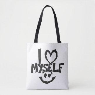 I love myself Smiley Tote Bag