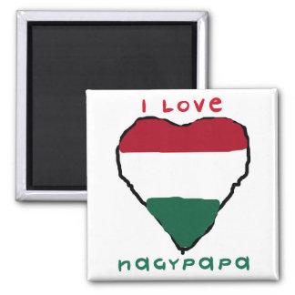 I Love Nagypapa Magnet