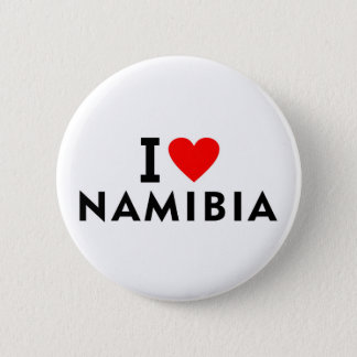 I love Namibia country like heart travel tourism 2 Inch Round Button