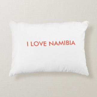 I LOVE NAMIBIA DECORATIVE PILLOW
