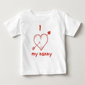 i love nanny shirt