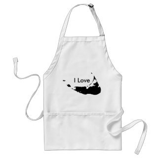 I Love Nantucket Apron