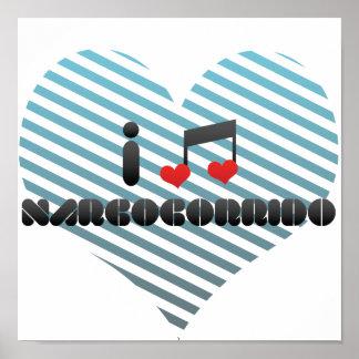 I Love Narcocorrido Poster