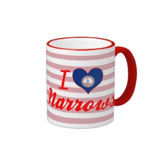 I Love Narrows, Virginia Mugs