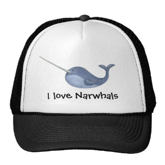 I love Narwhals Mesh Hat