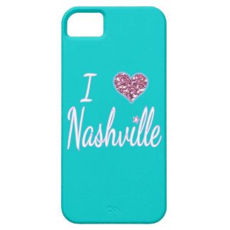 I Love Nashville iPhone 5 Covers