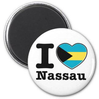 I love Nassau Magnet