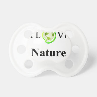 I Love Nature Baby Pacifiers